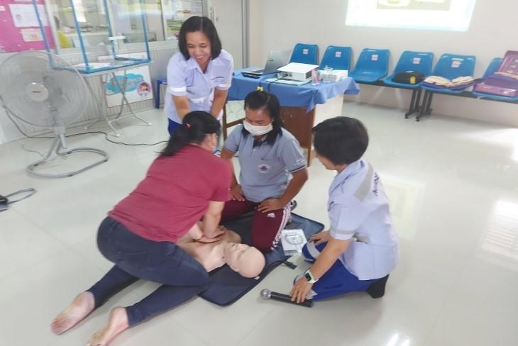 โครงการฝึกอบรมการปฐมพยาบาลเบื้องต้นและช่วยชีวิตขั้นพื้นฐาน